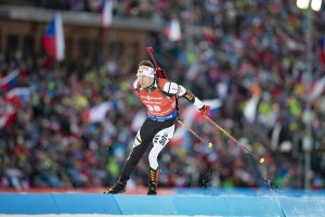 22.12.2018, Nove Mesto, Czech Republic (CZE): Florent Claude (BEL) - IBU world cup biathlon, pursuit men, Nove Mesto (CZE). www.nordicfocus.com. © Manzoni/NordicFocus. Every downloaded picture is fee-liable.